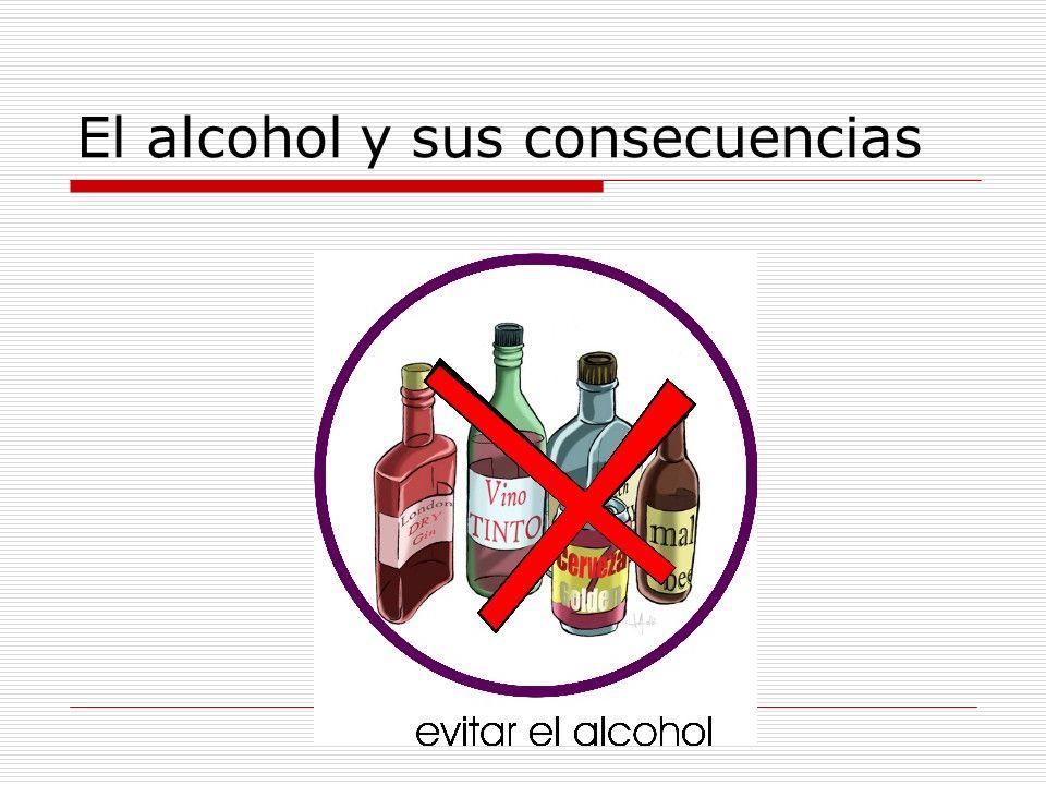 El alcohol y sus consecuencias