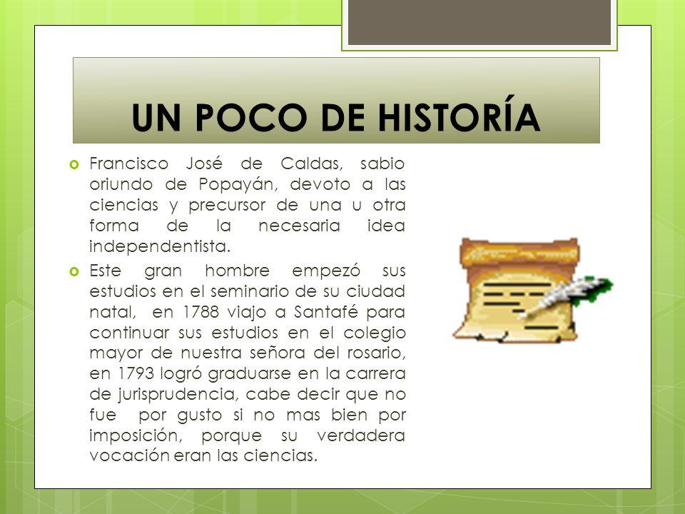 UN POCO DE HISTORÍA
