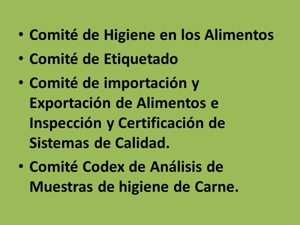 Comité de Higiene en los Alimentos