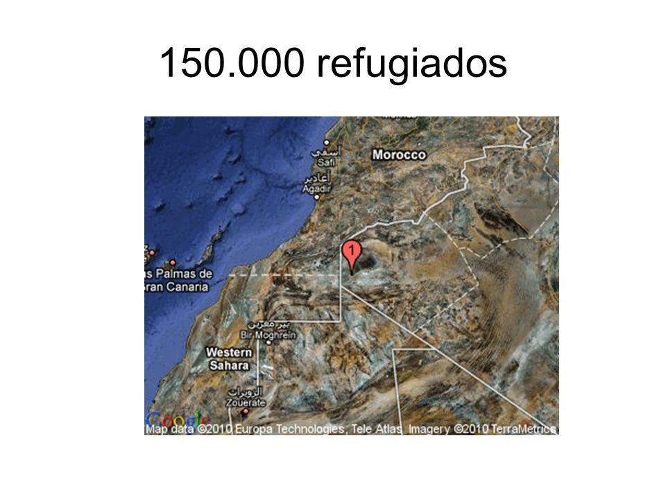 150.000 refugiados