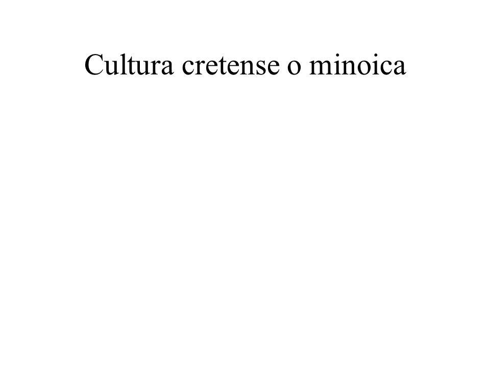 Cultura cretense o minoica