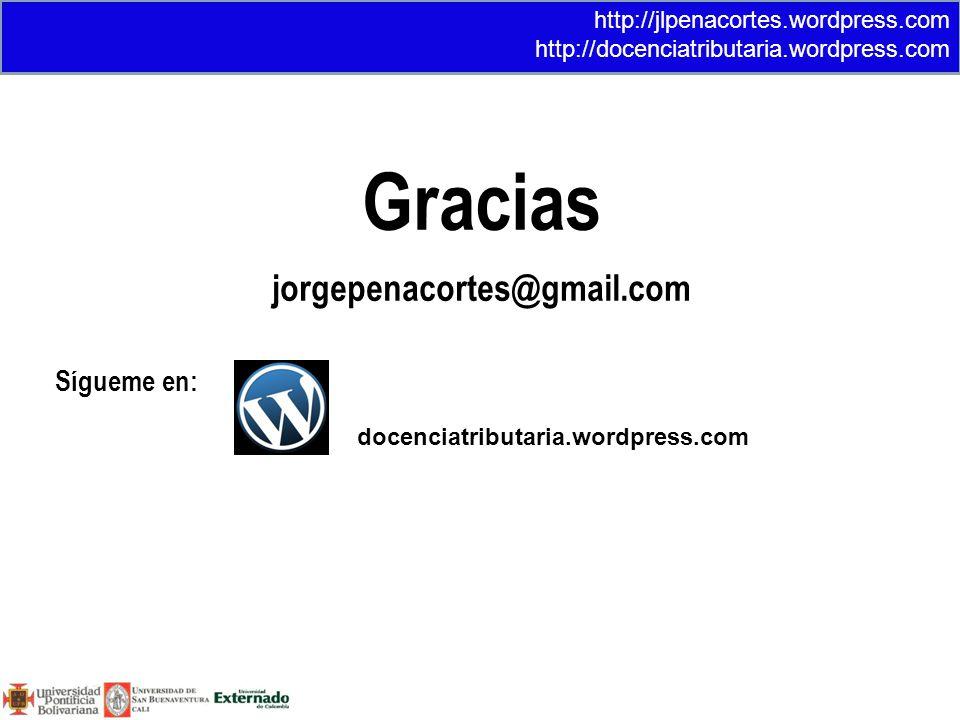 Gracias jorgepenacortes@gmail.com Sígueme en: