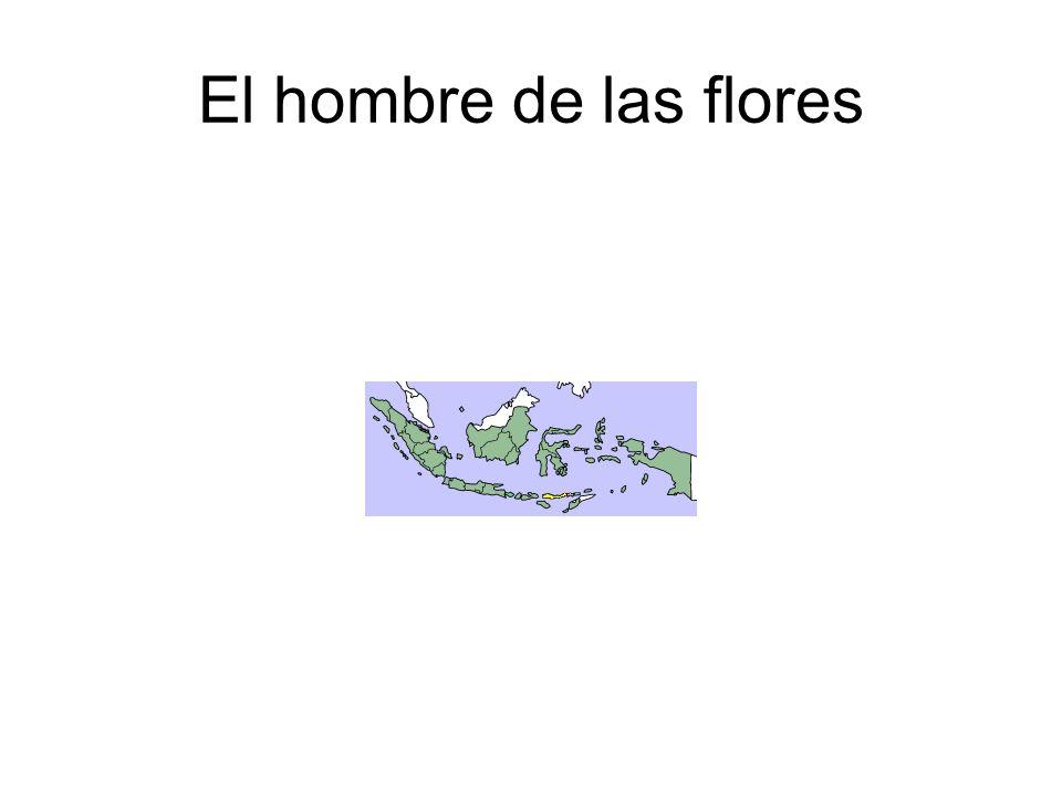 El hombre de las flores