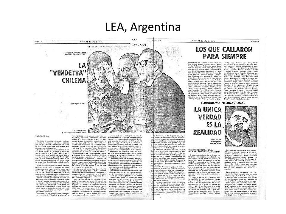 LEA, Argentina