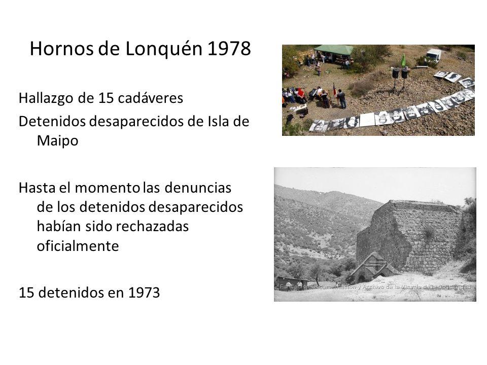 Hornos de Lonquén 1978