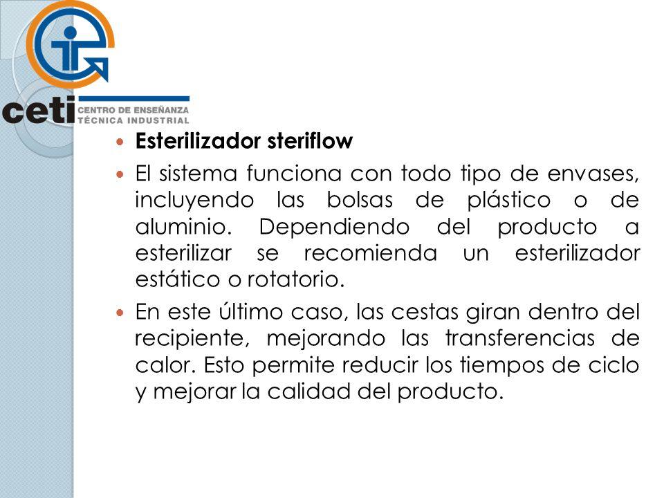 Esterilizador steriflow