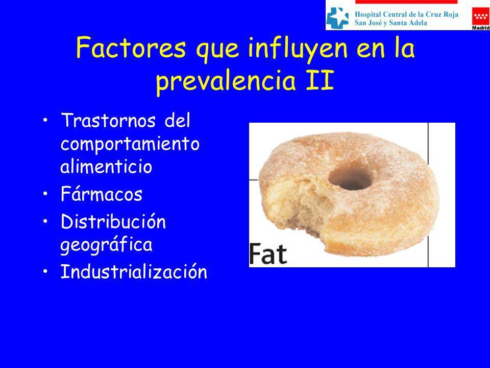 Factores que influyen en la prevalencia II