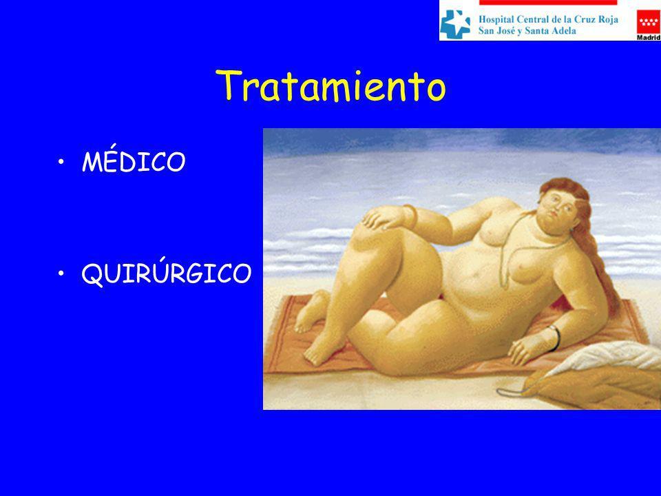 Tratamiento MÉDICO QUIRÚRGICO