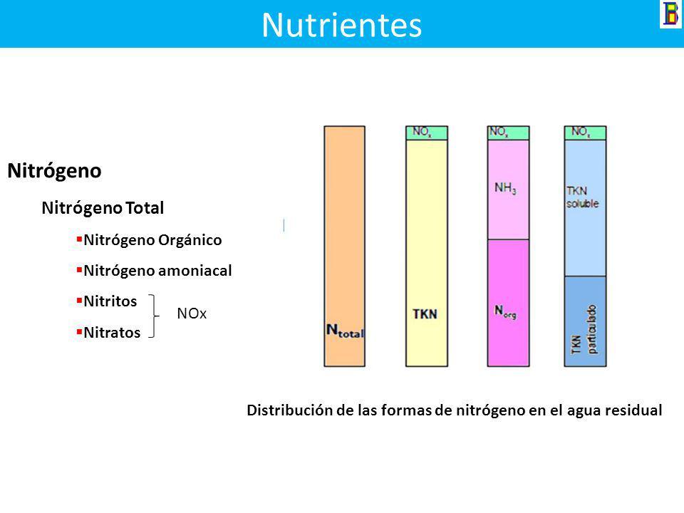 Nutrientes Nitrógeno Nitrógeno Total Nitrógeno Orgánico