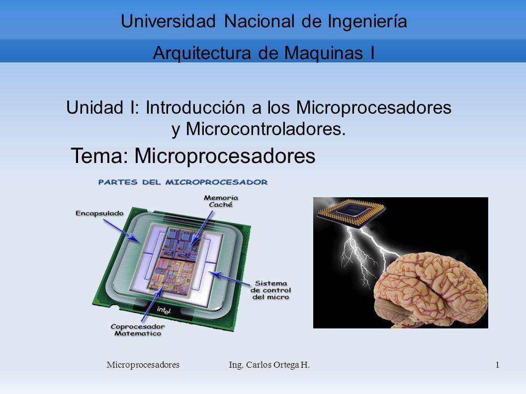 Tema: Microprocesadores