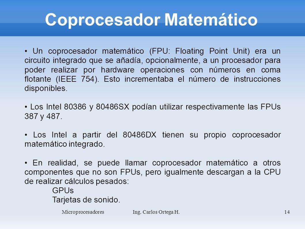 Coprocesador Matemático