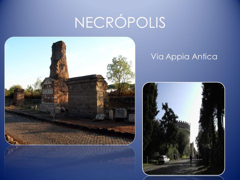 NECRÓPOLIS Via Appia Antica