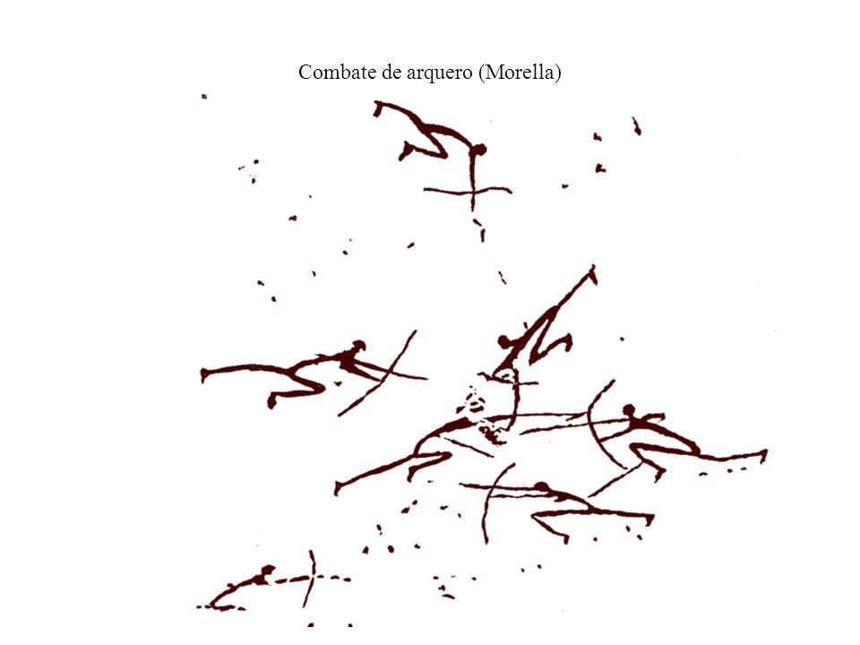 Combate de arquero (Morella)