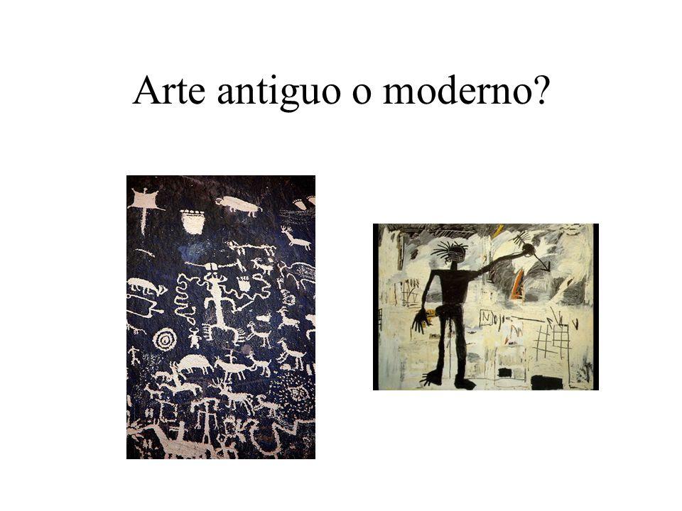 Arte antiguo o moderno