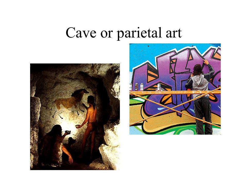 Cave or parietal art