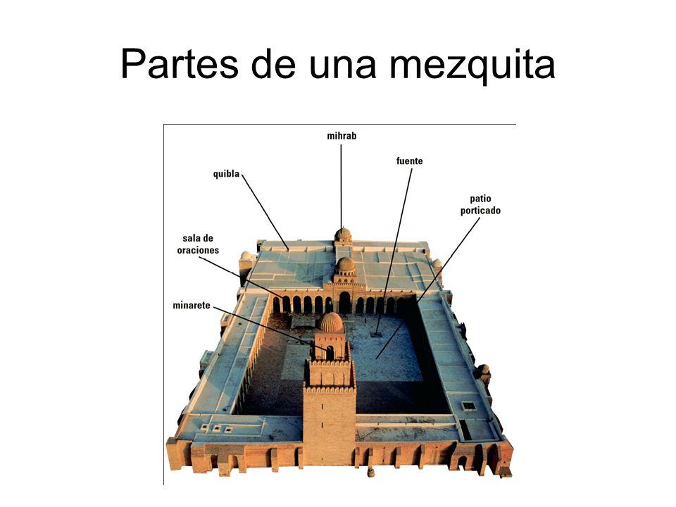 Partes de una mezquita