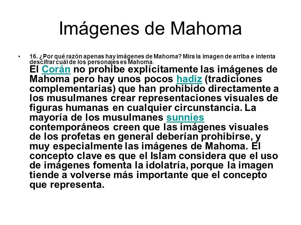 Imágenes de Mahoma