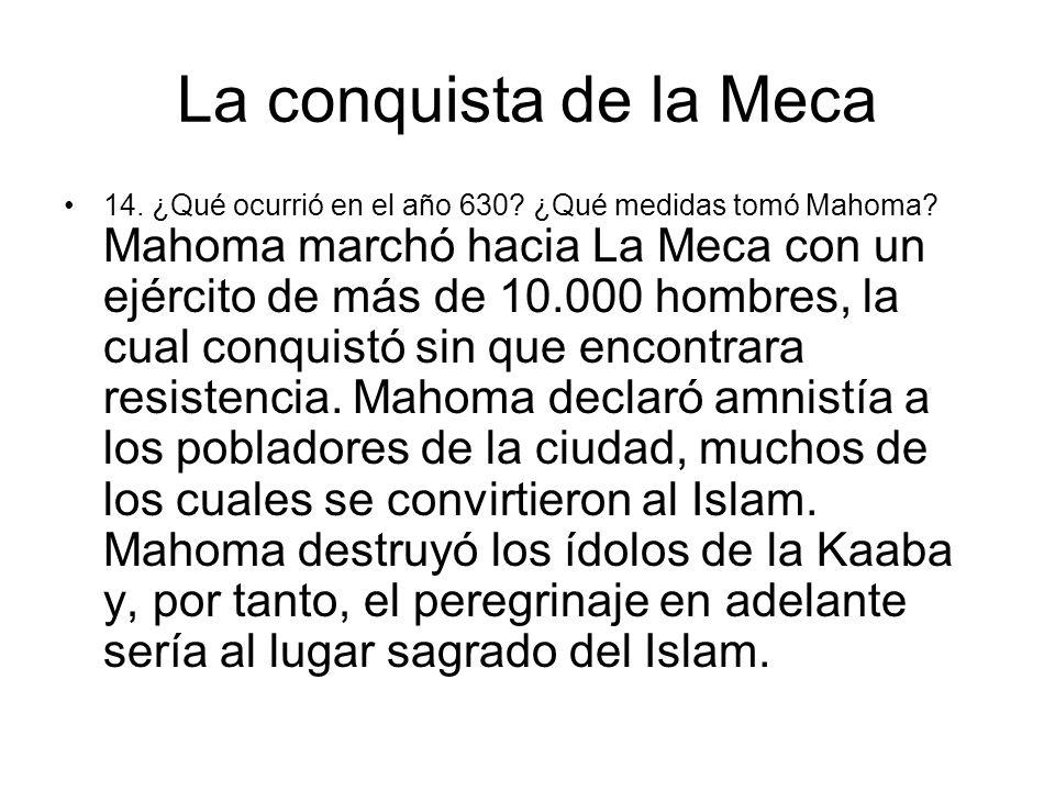 La conquista de la Meca
