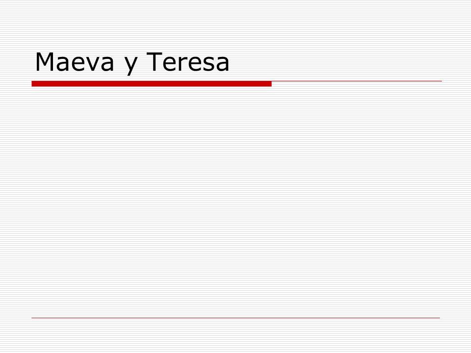 Maeva y Teresa