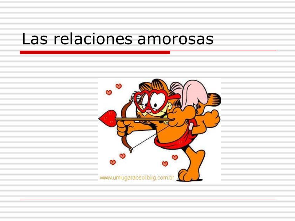 Las relaciones amorosas