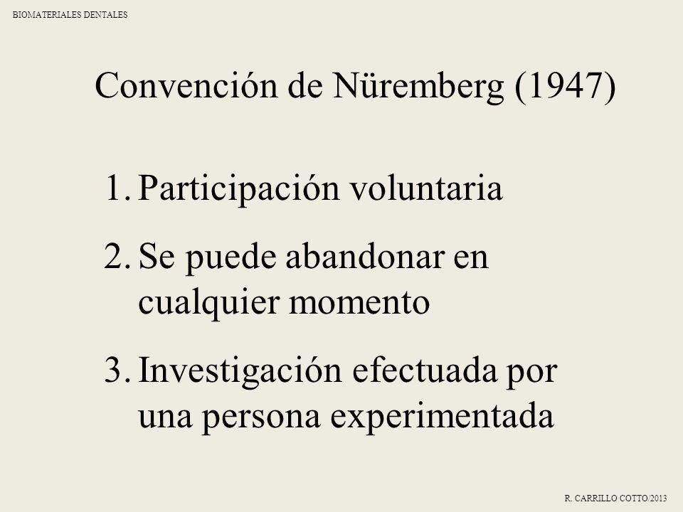 Convención de Nüremberg (1947)