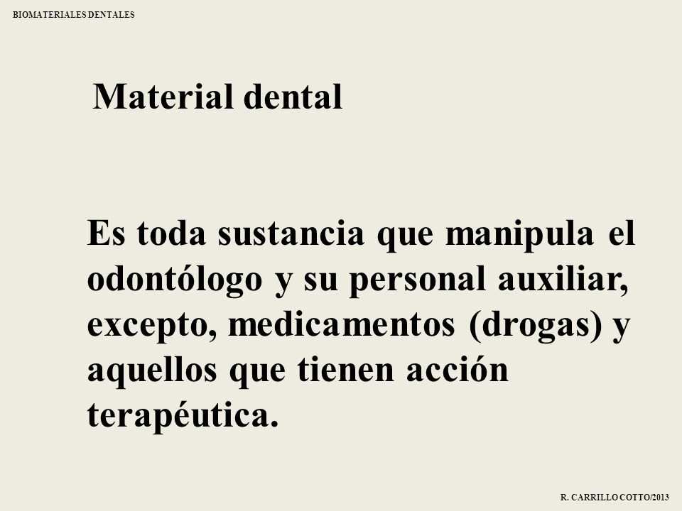 BIOMATERIALES DENTALES