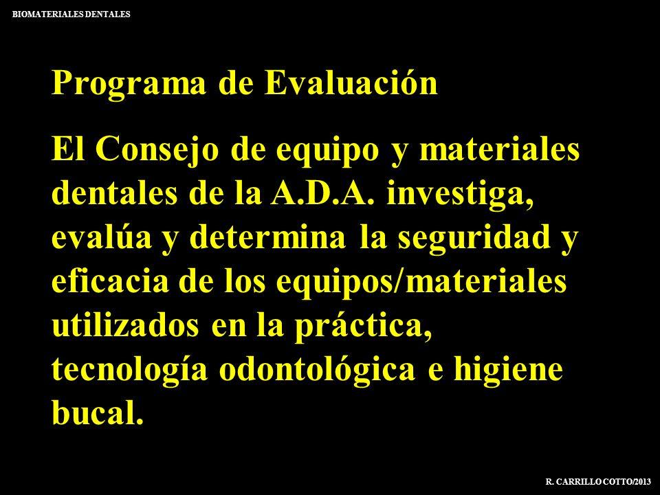 Programa de Evaluación