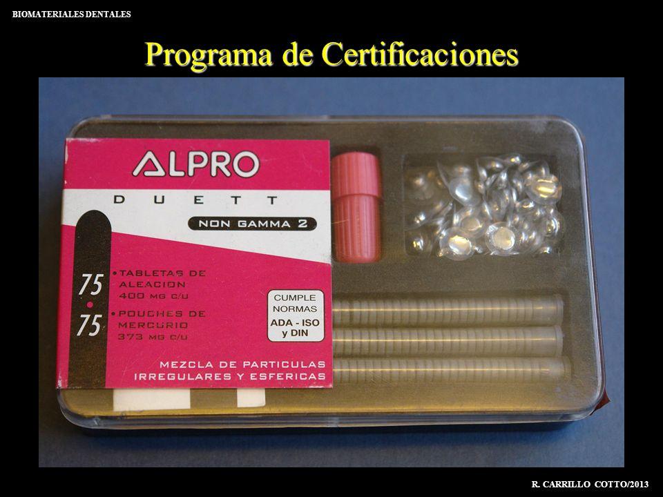 Programa de Certificaciones