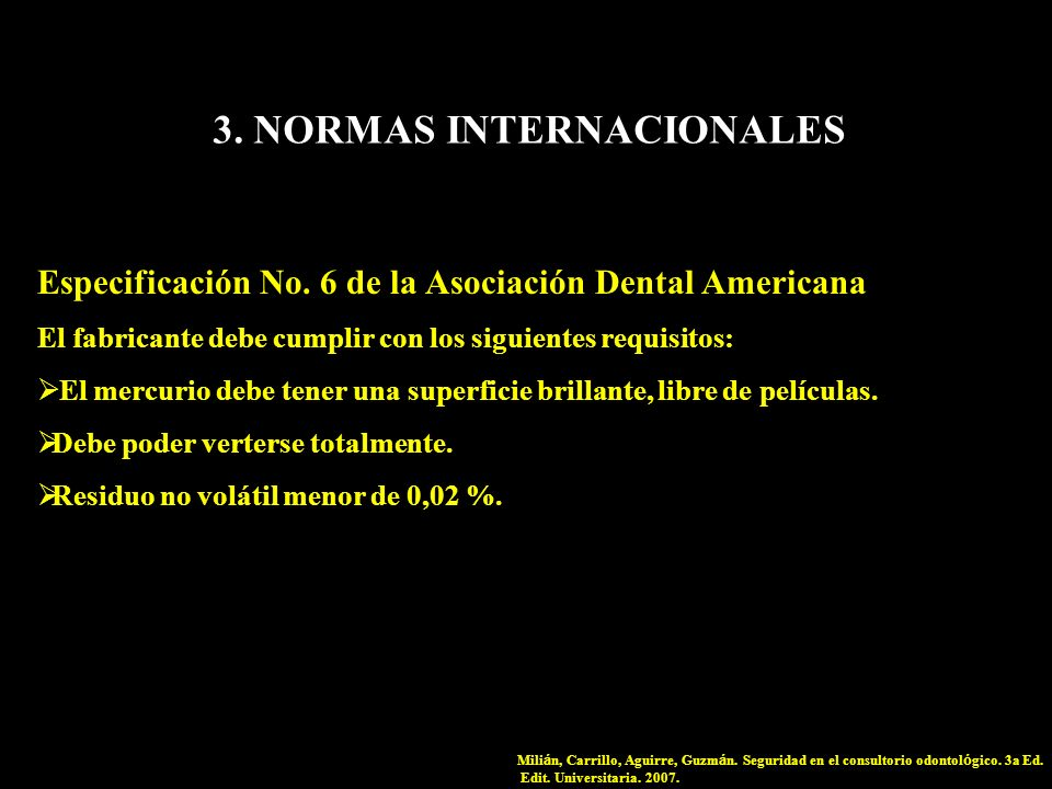 3. NORMAS INTERNACIONALES
