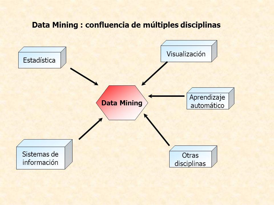 Data Mining : confluencia de múltiples disciplinas