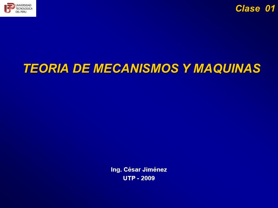 TEORIA DE MECANISMOS Y MAQUINAS