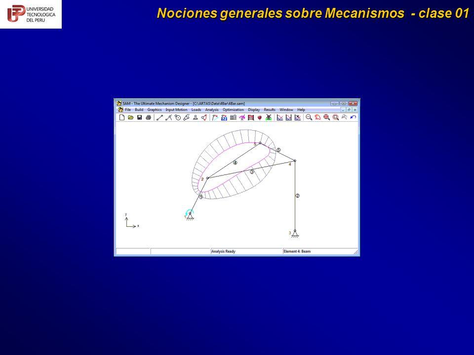 Nociones generales sobre Mecanismos - clase 01