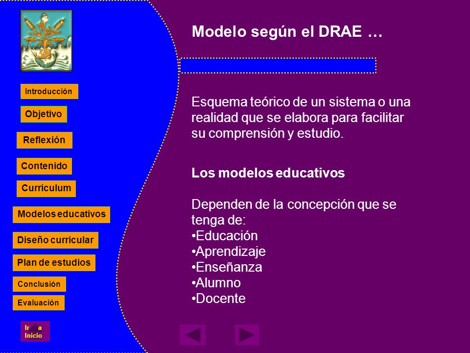 Modelo según el DRAE …Esquema teórico de un sistema o una realidad que se elabora para facilitar su comprensión y estudio.