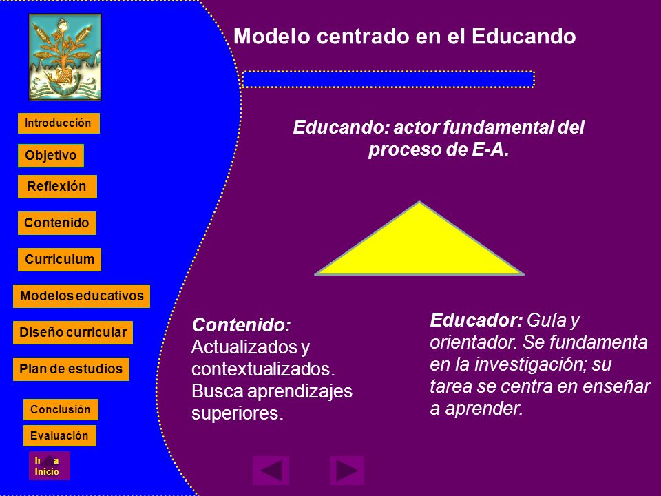 Educando: actor fundamental del proceso de E-A.