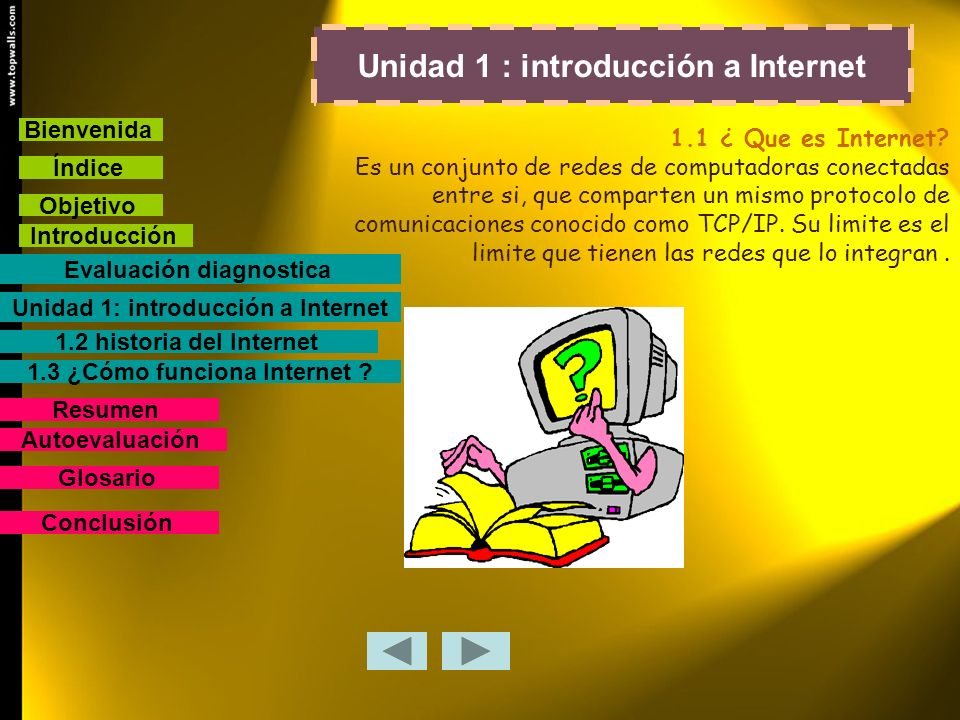 Unidad 1 : introducción a Internet