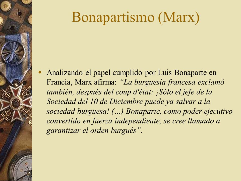 Bonapartismo (Marx)