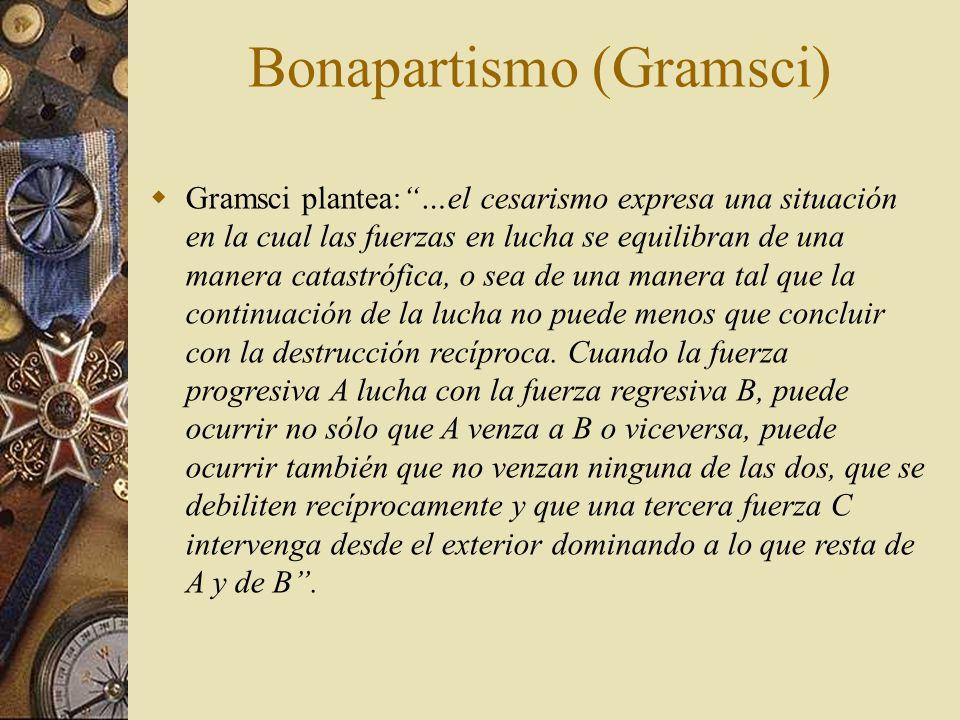 Bonapartismo (Gramsci)