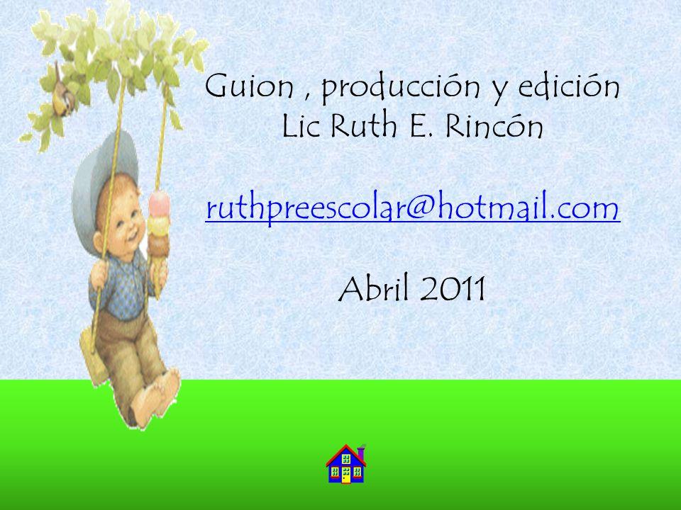 Guion , producción y edición