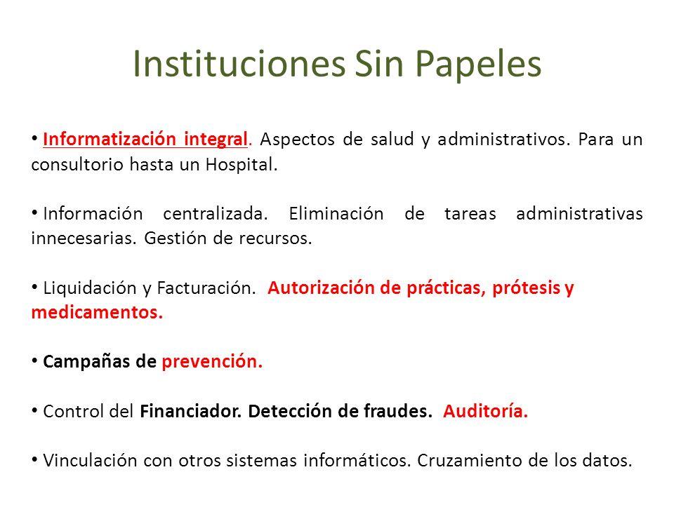 Instituciones Sin Papeles