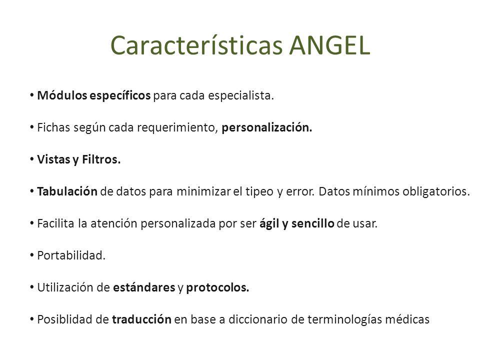 Características ANGEL