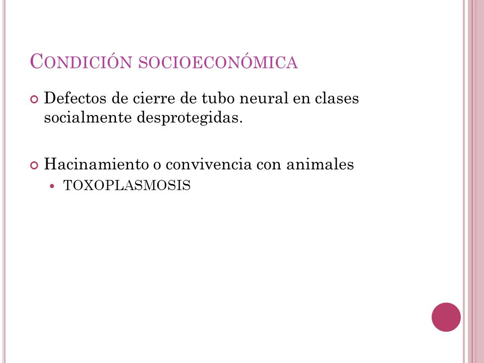 Condición socioeconómica