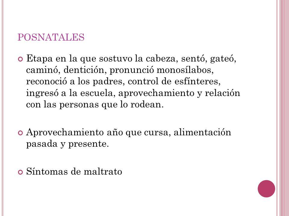 posnatales