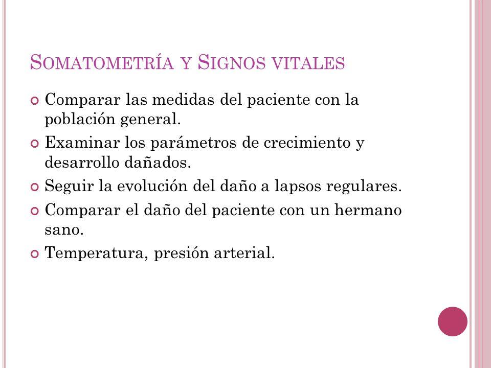 Somatometría y Signos vitales