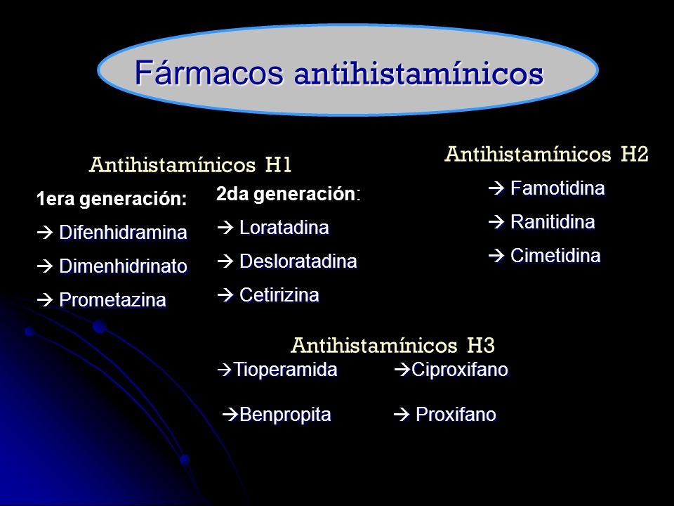 Histamina y fármacos antihistamínicos - ppt descargar