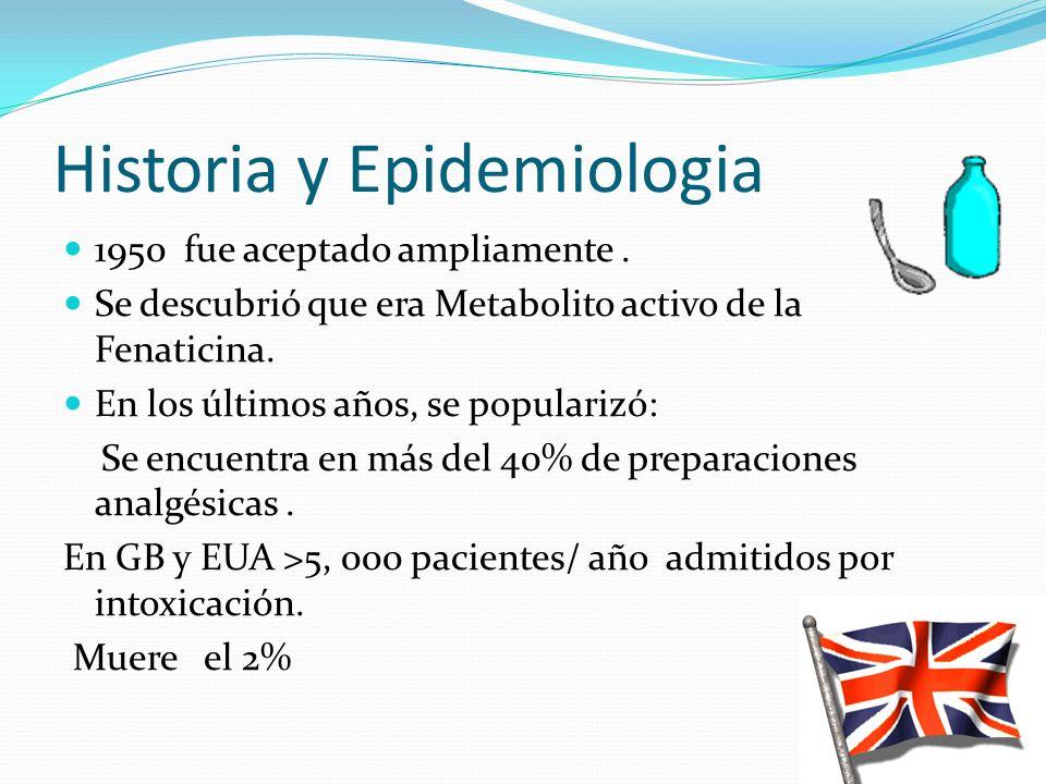 Historia y Epidemiologia