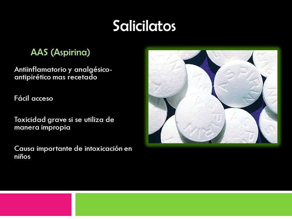 Salicilatos AAS (Aspirina)