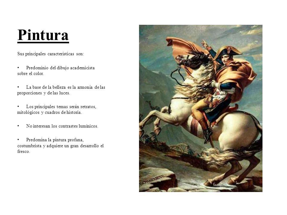 Pintura Sus principales características son: