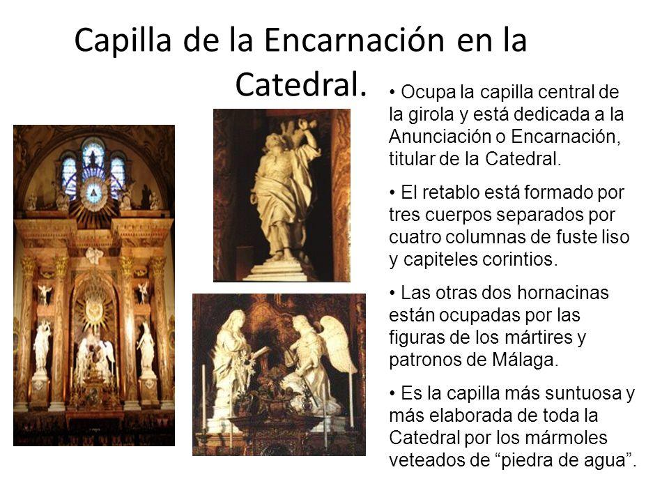 Capilla de la Encarnación en la Catedral.