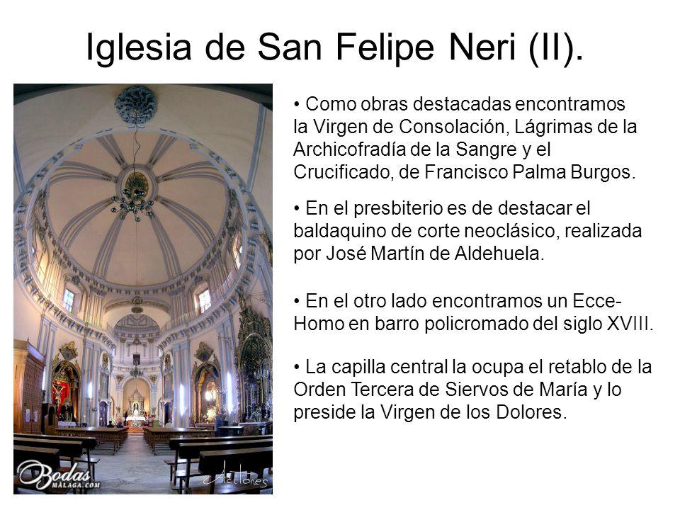Iglesia de San Felipe Neri (II).