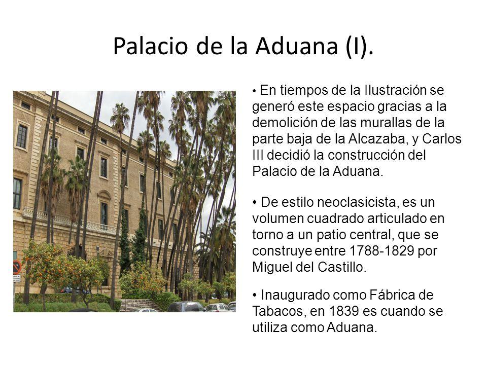 Palacio de la Aduana (I).